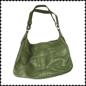 Tod's Handbags - Tod's  large green shoulder bag
