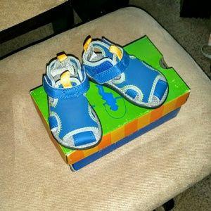 Jumping Jacks Other - JUMPING JACKS Water Baby Shoes size 4-4.5 (NIB!)