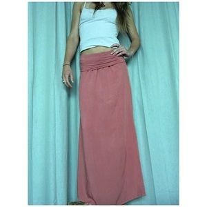 Arbor Dresses & Skirts - Coral Maxi Skirt