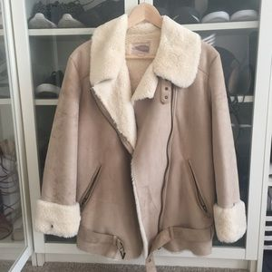 Forever 21 Faux Fur winter coat
