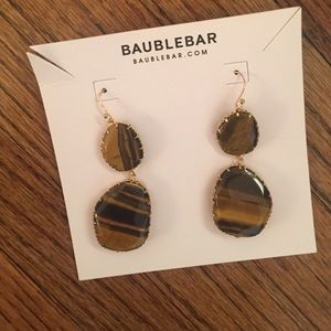 BaubleBar Jewelry - Tigers Eye Earring