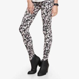 Express floral leggings-M