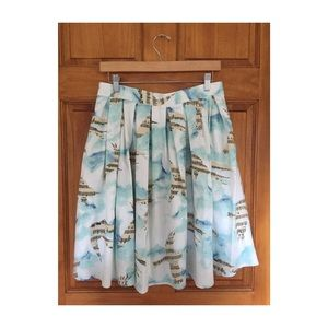 Songbird printed skirt