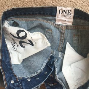 One Teaspoon Shorts - One Teaspoon Chargers in size 26