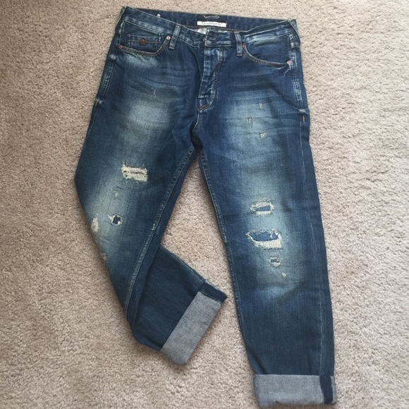 Maison Scotch Denim - Maison scotch boyfriend jeans in SZ 28 NWOT