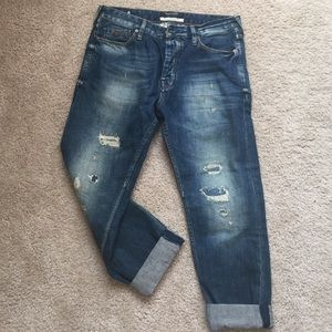 Maison scotch boyfriend jeans in SZ 28 NWOT