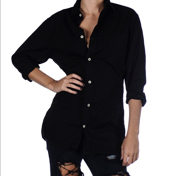 One Teaspoon Tops - One Teaspoon Cashman shirt in S Black