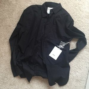 One Teaspoon Cashman shirt in S Black