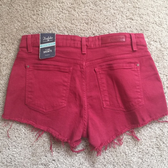 Zara Shorts - Zara Red rose shorts in size 4 NWT