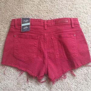 Zara Shorts - Zara Red rose shorts in size 4 NWT