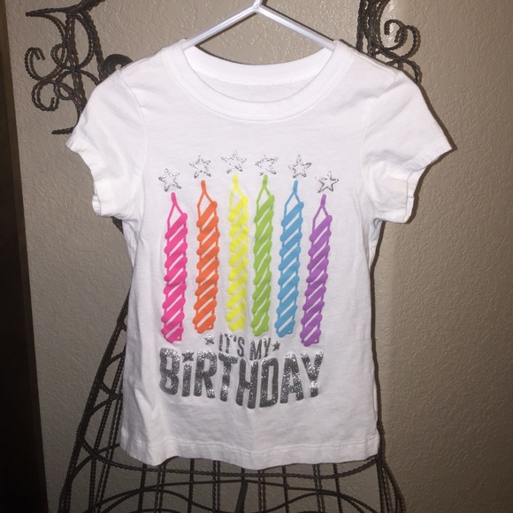 Super Cute Childrens Place Birthday Shirt
