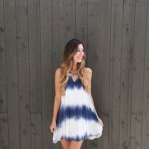 LAST ITEM | new | tie dye shift dress