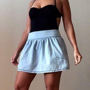 3x1 Dresses & Skirts - 3x1 Denim Miniskirt Avenue A in blue