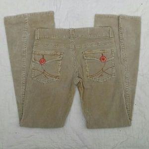Vintage Pants - LEI Tan Corduroys
