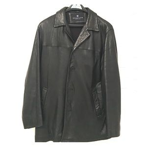 Kenneth Cole Reaction Other - Kenneth Cole leather Men's jacket!