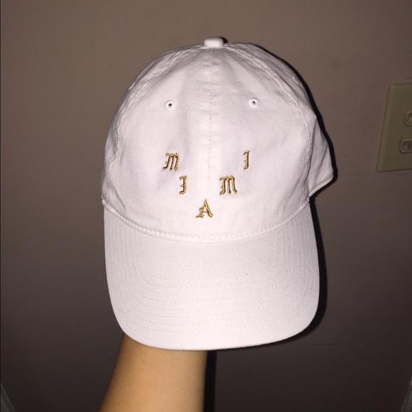 fa7a2d346c34e Miami Yeezy Pablo Pop Up Hat White