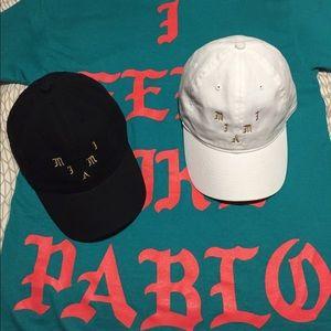955765fb27aae Yeezy Accessories - Miami Yeezy Pablo Pop Up Hat White