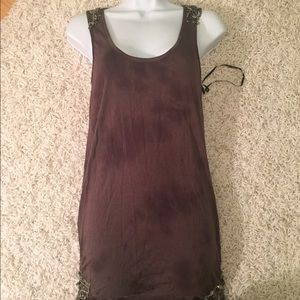Sugarlips Dresses & Skirts - Sexy tank dress tye dye brown