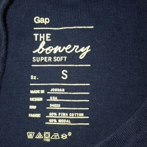 Gap Tops - Super Soft Blue Long Sleeve Tee