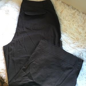 """Style & Co - 🔴 Chocolate brown capri pants -- 20"""" inseam from ..."""