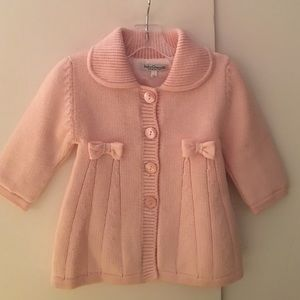 Baby Graziella Other - Baby Graziella Infant Girl Merino Wool Pink Coat.