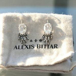 Alexis Bittar Jewelry - Sapphire Alexis Bittar earrings.  Price firm