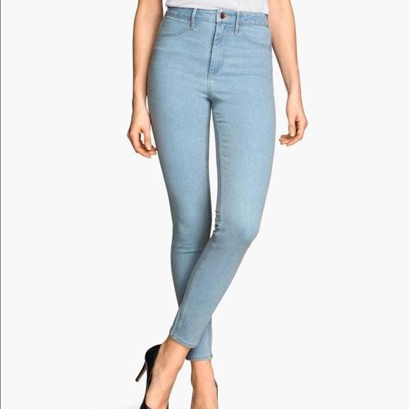 de8a75a756521 H&M Pants | Hm Skinny High Waist Ankle Jeans | Poshmark