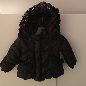 Monnalisa Other - Monnalisa Infant Puffer Jacket In Black 6M.