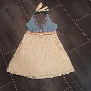 Altar'D State Halter Dress