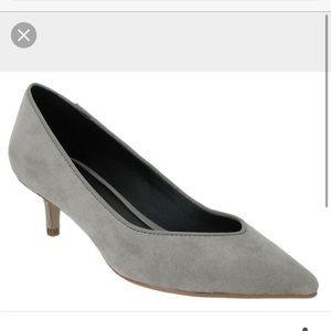 Mia Shoes - New Mia Janette Size US 6.5 Gray Heels