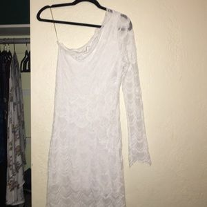 Nightcap Victorian Lace One Sleeve Dress