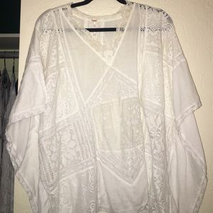 Tops - Free People Lace Top