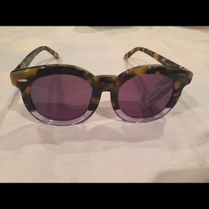 Karen Walker Accessories - NWT Karen Walker Super Duper Thistle sunglasses