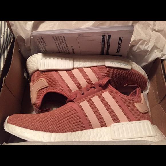 Adidas zapatos vendido nuevo NMD RAW Pink Tamaño 95 poshmark