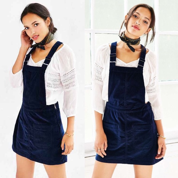 8095532616 💖NWT Urban Outfitters corduroy skirt overalls💖