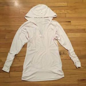 Zella light pink workout hoodie - sz XS