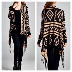 tla2 Jackets & Blazers - 🌺HOST PICK 11/4🌺AZTEC HIGH LOW SHRUG