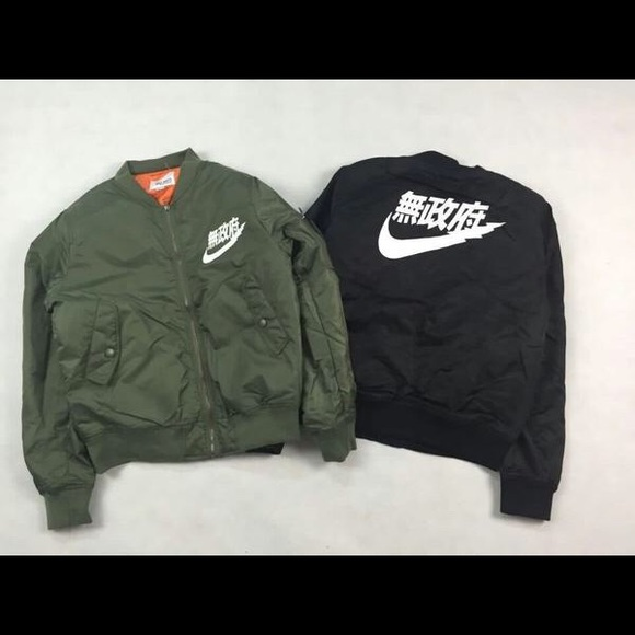 acfe000b30c Supreme Jackets & Coats | Air Tokyo Bomber Jacket Nike Yeezy New In ...