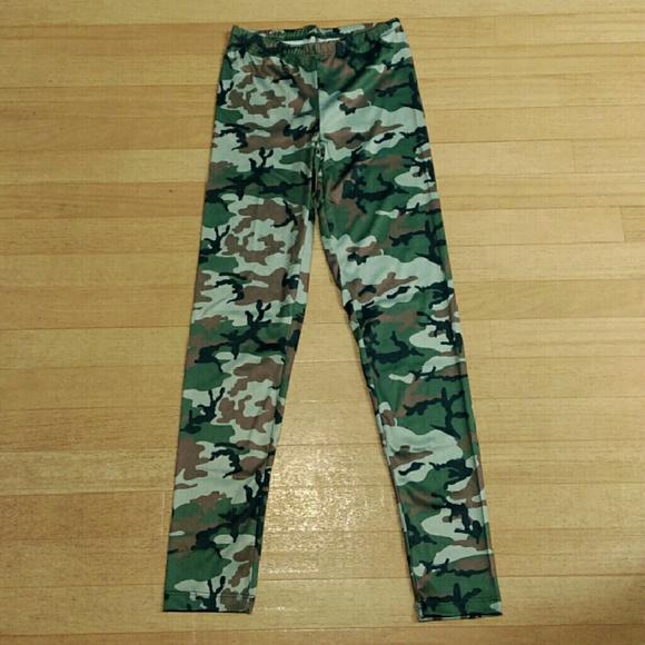 Freeze Pants - Camouflage Leggings 👀