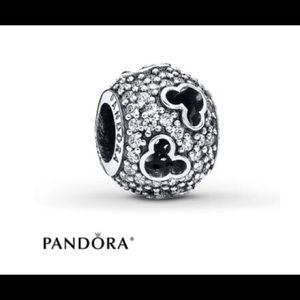 pandora disney jewelry collections silver mickey silhouette ring