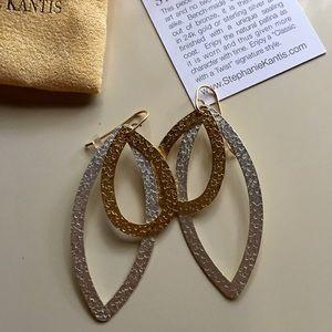 Stephanie Kantis Jewelry - Stephanie Kantis Paris gold/silver earrings BNIB