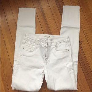 Zara Jeans - Zara Stretchy White Trafaluc Jeans 26 6