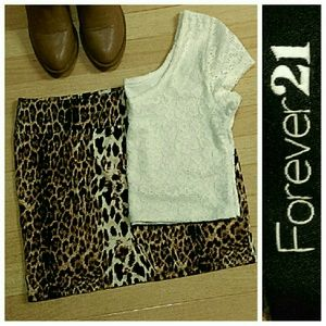 Forever 21 Skirts - NWOT + EUC Mini Skirt Bundle