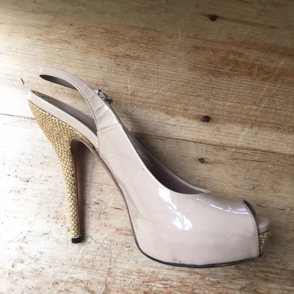 70% off Gucci Shoes - GUCCI Vintage Nude Heels from Madeline's ...