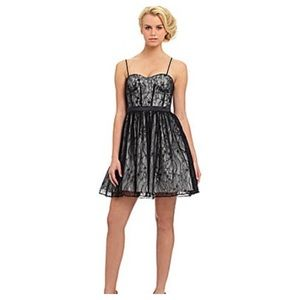 Aidan Mattox Dresses & Skirts - Aidan Mattox Formal Black Lace Dress