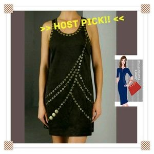 Host Pick! > Super Cute Faux Suede Dress