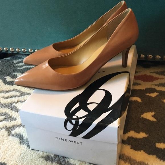 e38b08724efa Brand New Nine West Elise Nude Heels. M 57bb12ed4225be8f9a002fe7