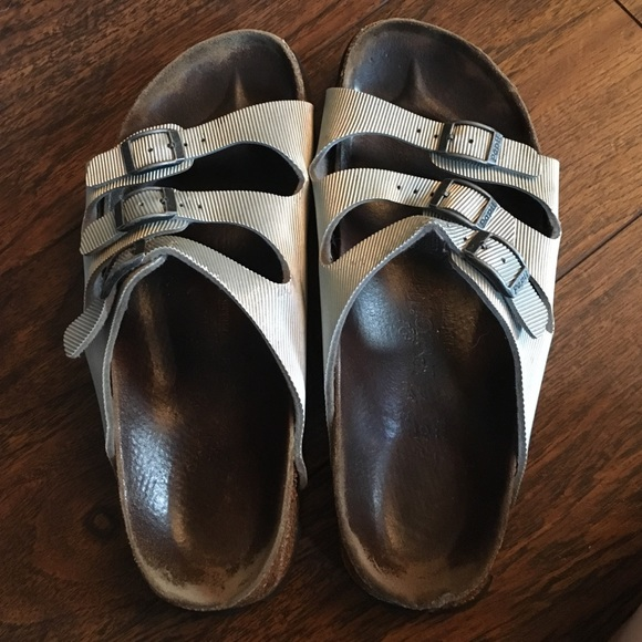2577f2436de7 Birkenstock Shoes - Silver Papillio by Birkenstock Florida sandals