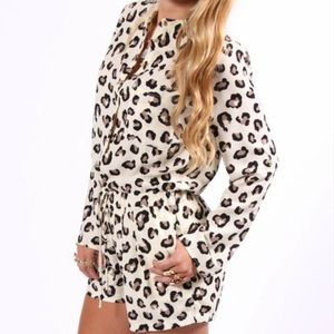 Buddy Love Pants - NWT Leopard/Jag Romper - As seen on The Bachelor!