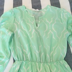 Peach Love California Dresses - Peach Love California Mint Dress - w/ pockets!!